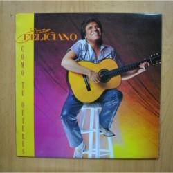 JOSE FELICIANO - COMO TU QUIERES - LP