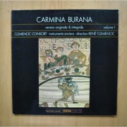 VARIOS - CARMINA BURANA VOLUME 1 - LP