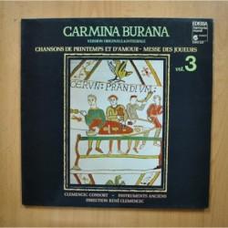 VARIOS - CARMINA BURANA VOL 3 - LP