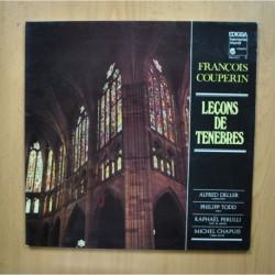 FRANCOIS COUPERIN - LECONS DE TENEBRES - LP