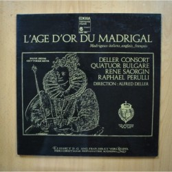 VARIOS - L AGE D OR DU MADRIGAL - LP