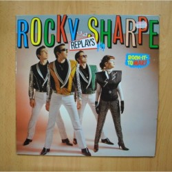 ROCKY SHARPE AND THE REPLAYS - ROCK IT TO MARS - LP