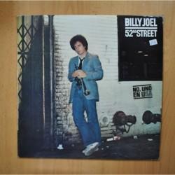 BILLY JOEL - 52 ND STREET - LP
