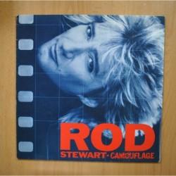 ROD STEWART - CAMOUFLAGE - LP