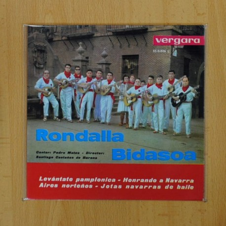 RONDALLA BIDASOA - LEVANTATE PAMPLONICA + 3 - EP