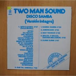 TWO MAN SOUND - DISCO SAMBA - LP