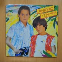 ANTONIO Y CARMEN - ANTONIO Y CARMEN - GATEFOLD LP