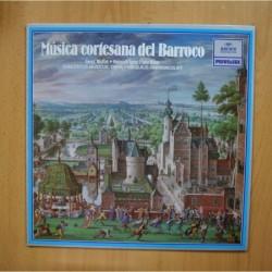 VARIOS - MUSICA CORTESANA DEL BARROCO - LP