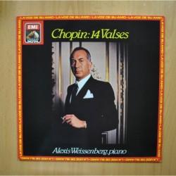 ALEXIS WEISSENBERG - PIANO CHOPIN 14 VALSES - LP