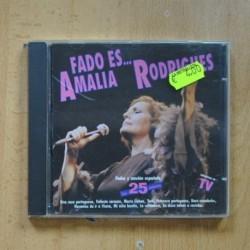 AMALIA RODRIGUES - FADO ES - CD