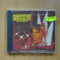 VARIOS - STREETS OF FIRE - CD