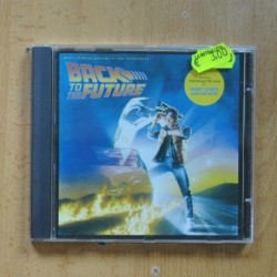 VARIOS - BACK TO THE FUTURE - CD