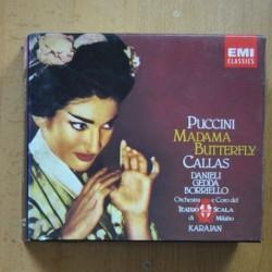 PUCCINI / CALLAS - MADAMA BUTTERFLY - CD