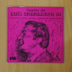 LUIS CABALLERO - CANTES DE LUIS CABALLERO 1 - SINGLE