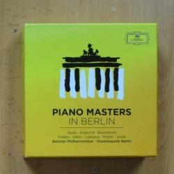 VARIOS - PIANO MASTERS IN BERLIN - CD