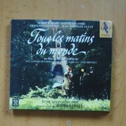 VARIOS - TOUS LES MATINS DU MONDE - CD