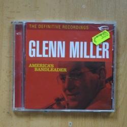 GLENN MILLER - AMERICAS BANDLEADER - CD