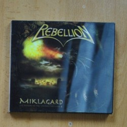 REBELLION - MIKLAGARD - CD
