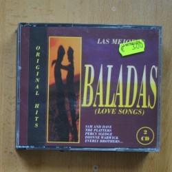 VARIOS - LAS MEJORES BALADAS - 2 CD
