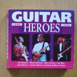 VARIOS - GUITAR HEROES - 3 CD