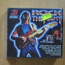 VARIOS - ROCK THE NIGHT - 3 CD