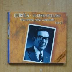 QUIROGA - UN GENIO SEVILLANO VOL 2 - CD