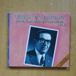 QUIROGA - UN GENIO SEVILLANO VOL 25 - CD