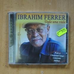 IBRAHIM FERRER - TODA UNA VIDA - CD