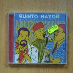 QUINTO MAYOR - MONTUNO AL PISO - CD