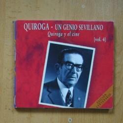QUIROGA - UN GENIO SEVILLANO VOL 4 - CD