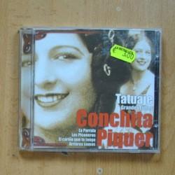 CONCHITA PIQUER - TATUAJE GRANDES EXITOS - CD