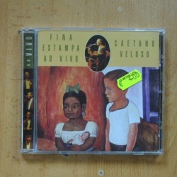 CAETANO VELOSO - FINA ESTAMPA AO VIVO - CD