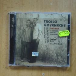 TROILO GOYENECHE - TINTA ROJA - CD