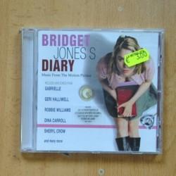 VARIOS - BRIDGET JONES DUARY - CD