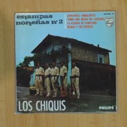 LOS CHIQUIS - ZAPATEROS AMBULANTES + 3 - EP [DISCO DE VINILO]
