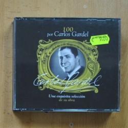 CARLOS GARDEL - 100 POR CARLOS GARDEL - 4 CD