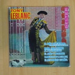 TONY LEBLANC - EL NIÑO DEL CATARRO + 4 - EP [DISCO DE VINILO]