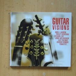 VARIOS - GUITAR VISIONS - CD