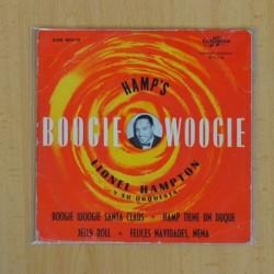 LIONEL HAMPTON Y SU ORQUESTA - BOOGIE WOOGIE SANTA CLAUS + 3 - EP