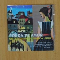 TUNA DE LA FACULTAD DE DERECHO DE MADRID - HORAS DE RONDA + 3 - EP