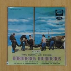 CORAL MARINERA LOS TIBURONES - ADIOS, QUE YA ME VOY + 3 - EP