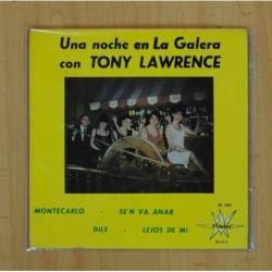 TONY LAWRENCE - MONTECARLO + 3 - EP