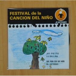 FESTIVAL DE LA CANCION DEL NIÑO - ¡AY! PIO PIO + 3 - EP