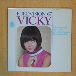 VICKY - EUROVISION 67 MI AMOR ES AZUL + 3 - EP