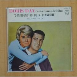 DORIS DAY - CONFIDENCIAS DE MEDIANOCHE B.S.O. - PILLOW TALK + 3 - EP