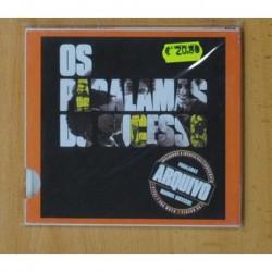 OS PARALAMAS DO SUCESSO - ARQUIVO - CD