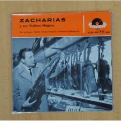 ZACHARIAS - FLOR DE PASION + 3 - EP