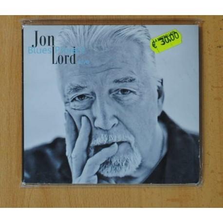 JON LORD BLUES PROJECT - LIVE - CD