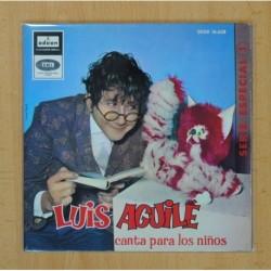 LUIS AGUILE - CANTA PARA LOS NIÑOS - EL REINO DEL REVES + 3 - EP