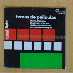 ENOCH LIGHT - TEMAS DE PELICULAS - ZORBA, EL GRIEGO + 3 - EP